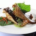 Cách làm món cá đuối nướng tía tô thơm ngon