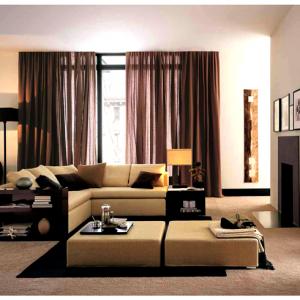 Sofa gỗ - nỉ LT02