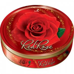Bánh hộp thiếc Red Rose 350g