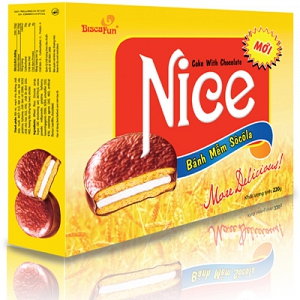 Bánh Nice hộp 220g