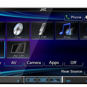 JVC KW-V40BT