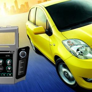 Flyaudio cho xe Toyota -- 66028A02 (Yaris)