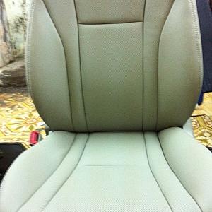 Hình ảnh bọc ghế da tại nhà