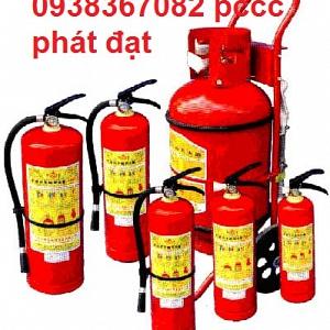 Nạp bình chữa cháy tại các quận ...