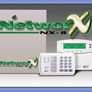 Trung Tâm Báo Cháy Network NX8E