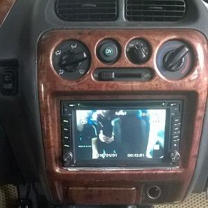 Màn hình DVD xe Daihatsu Terios