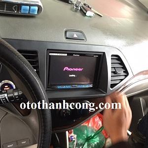 Lắp DVD pioneer cho xe Morning