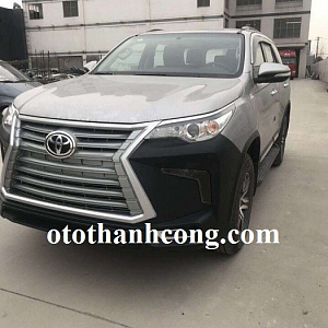 Độ mặt calang Xe Toyota Fortuner 2018, ...