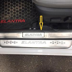 Ốp bậc cửa phía trong Hyundai Elantra ...