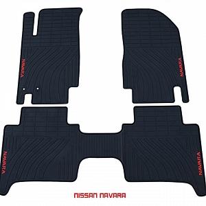 Thảm cao su theo xe Nissan Navara