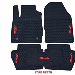 Thảm cao su theo xe Ford Fiesta