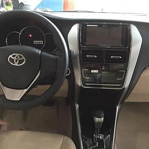 DVD theo xe Toyota Vios  2019