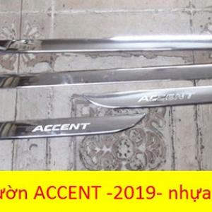 Nẹp sườn hyundai accent 2018-2019