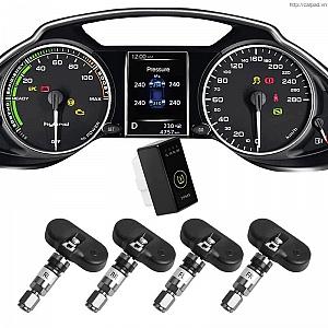 Cảm biến áp suất lốp theo xe ...